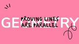 Proving Lines Parallel Pear Deck