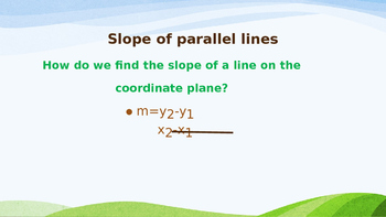 Proving Lines Perpendicular by Slope