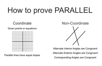 Proving Parallel Lines