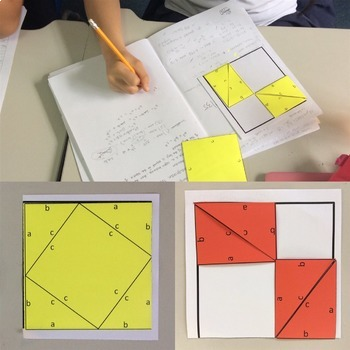Proving Pythagorean Theorem Activity