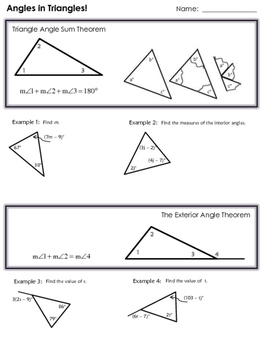 Proving Similar Triangles Notes and Examples