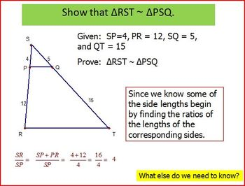 Proving Similar Triangles (PP)