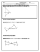 Proving Triangle Similar (Word Document)