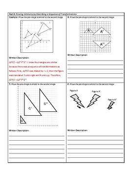 Proving Triangle Similarity: 3 Ways (Scale Factor, Transformations, Angles)