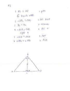 Proving Triangles Congruent Around the World Activity