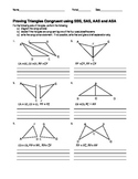 Proving Triangles Congruent with Congruence Shortcuts