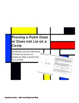 Proving or Disproving a Point Lies on a Circle