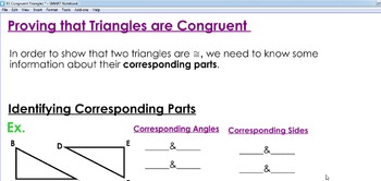 Proving that Triangles are Congruent using SSS, SAS, ASA