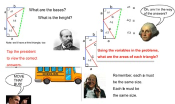 Proving the Pythagorean Theorem the way President James Garfield did