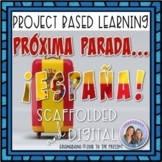 (No Prep) Project Based Learning: Próxima Parada: ¡España! AP Final Project