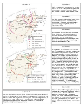 Proxy War: The US, USSR + Mujahideen in Afghanistan (Document Packet)