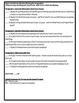 Proyecto - Exprésate 1 Capítulo 5.2 - La Casa de Mis Sueños (Project)