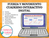 Cuaderno Interactivo Digital Fuerza y Movimiento (Distance Learning)