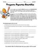Proyecto: Deportes divertidos (Espanol 1)