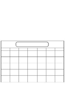 Proyecto - El Calendario (Birthday Month Calendar Project)