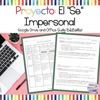 """Proyecto: El """"Se"""" Impersonal"""