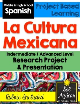 Mexico Culture Research Project - Intermediate and Advance