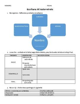 Proyecto de Autorretrato con Planificacion y Ejemplo