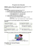 Proyecto de Escuela (Clases y Material Escolar)