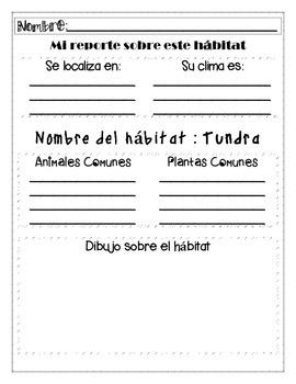 In Spanish / Habitats {Proyecto de Investigación}