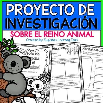 Proyecto de Investigación sobre el Reino Animal