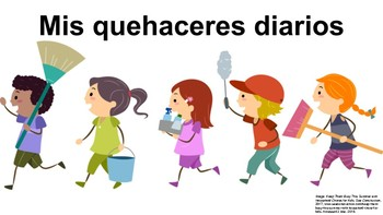 "Proyecto de Mis Quehaceres Diarios (6B) ""Project about My Daily Chores"""