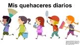 "Proyecto de Mis Quehaceres Diarios (6B) ""Project about My"
