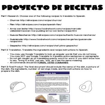Proyecto de Recetas