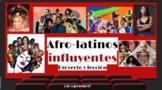 Proyecto de investigación: Los afro-latinos influyentes: RELEVANT TO YOUTH