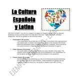 Proyecto de la Cultura - Hispanic Culture Project