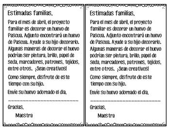 Proyecto mensual abril