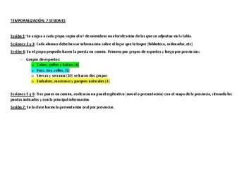 Proyecto relieve de Andalucía
