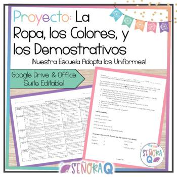 Proyecto y Presentación Oral: ¡Diseña un Uniforme para Nuestra Escuela!