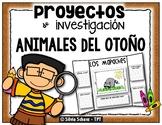 Proyectos de investigación - Animales del otoño