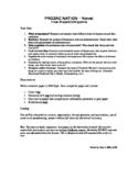 Prozac Nation Writing Project (Post-Novel)