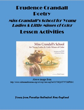 Prudence Crandall Poetry Lessons