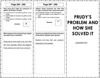 Prudy's Problem and How She Solved It - 3rd Grade Reading Street