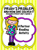 Prudy's Problem and How She Solved It Reading Street 3rd grade Unit 2 centers