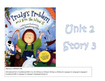 Prudy's Problem Reading Focus Wall