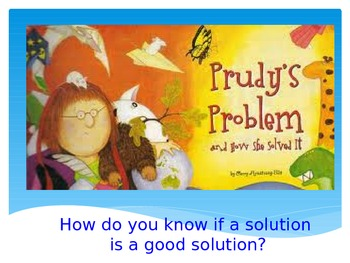 Prudy's Problem Vocabulary Powerpoint