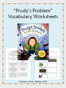 """Prudy's Problem and How She Solved It"" Vocabulary Match-Up"