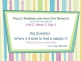 Prudy's Problem and How She Solved It  - PowerPoint Readin
