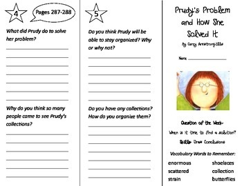 Prudy's Problem and How She Solved It Trifold - Reading St