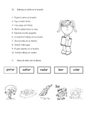Prueba preposiciones; sustantivos propios y comunes; verbos