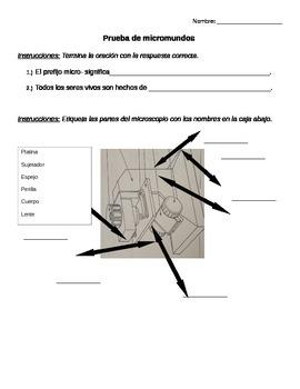 Prueba de micromundos/ Microworlds Test (Spanish-Einstein Kit)