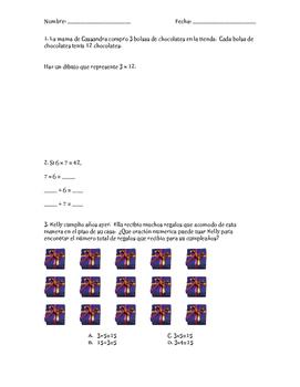 Prueba de multiplicación y división