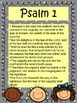 Psalm 1 Bible Verse Poster