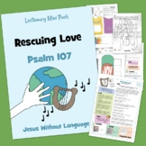 Psalm 107 - Kidmin Lesson & Bible Crafts + family study.