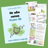Psalm 118 - Kidmin Lesson & Bible Crafts + family study.