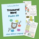 Psalm 119 - Kidmin Lesson & Bible Crafts + family study.